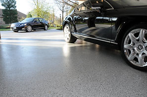 epoxy flake flooring garage
