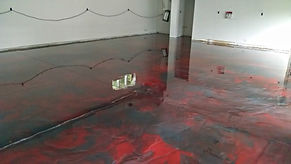 metallic epoxy garage floor coatings