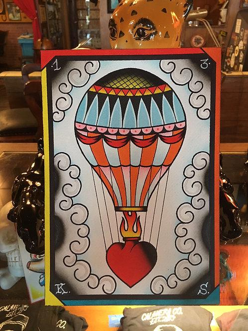 Hot Air Balloon OG (not a print)