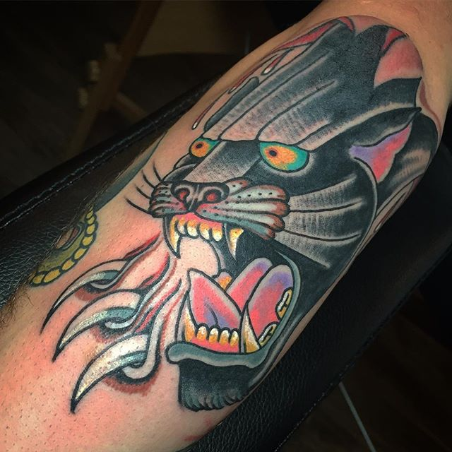 Panther on the elbow made now _calaverat