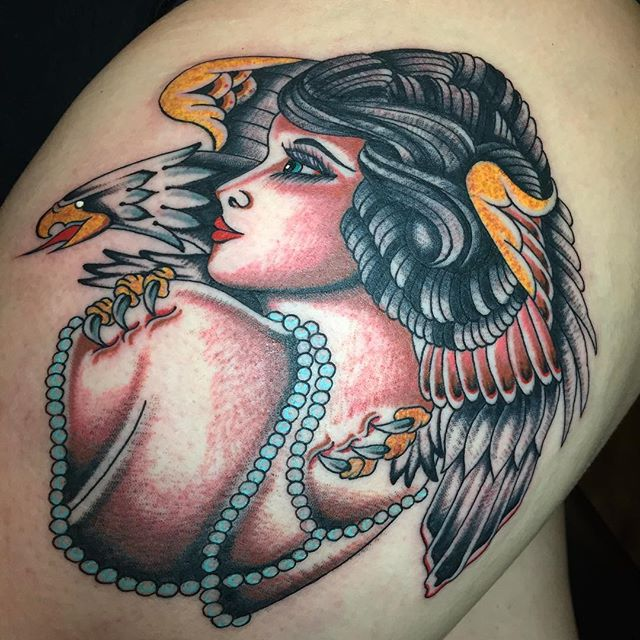 Lady made _calaveratattoo_barberco call