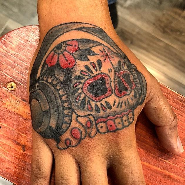 The Hand Tattoo-   Calavera Tattoo & Barber Co.- Best Tattoos in ...