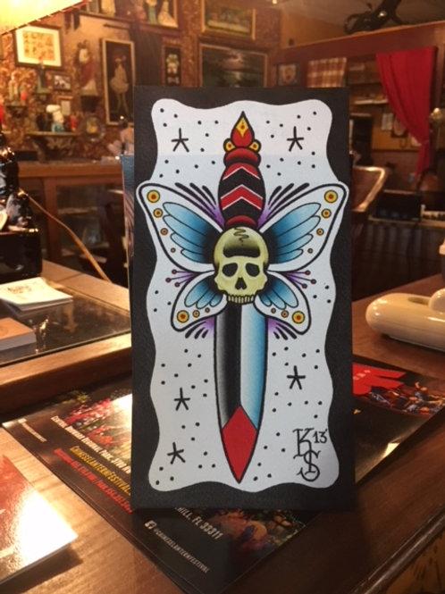 Moth Dagger OG (not a print)