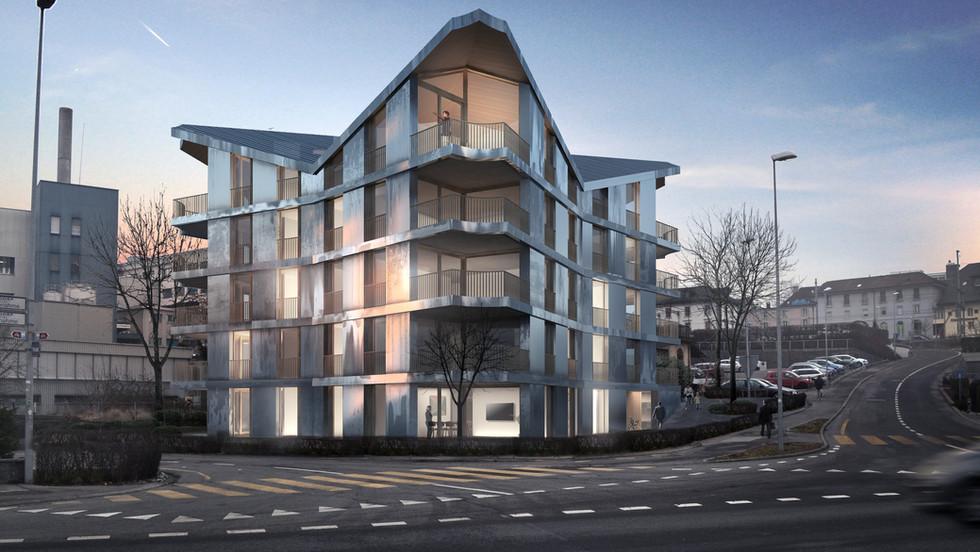 Zeitlose Architektur mit spannenden Lebensräumen