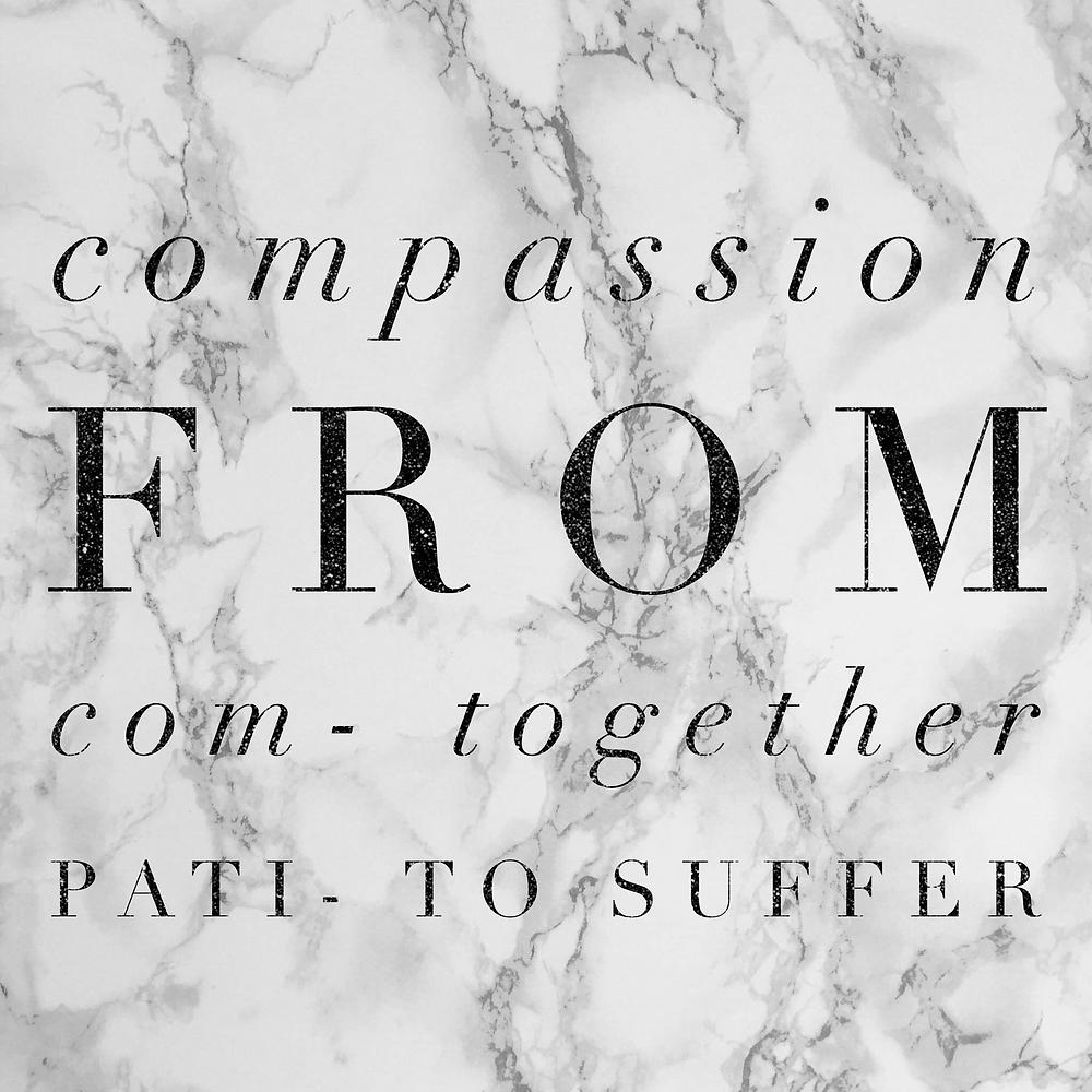 Etymology of compassion