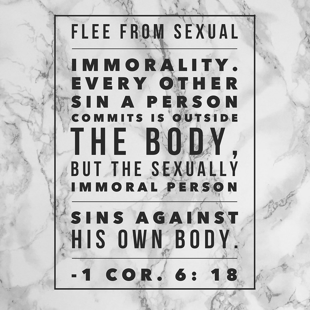Sexual immorality verse