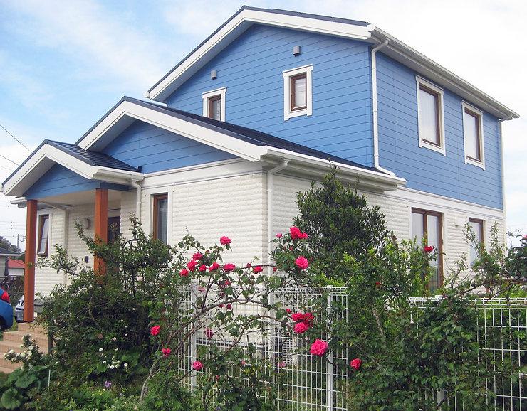 御宿町の別荘リフォーム塗装