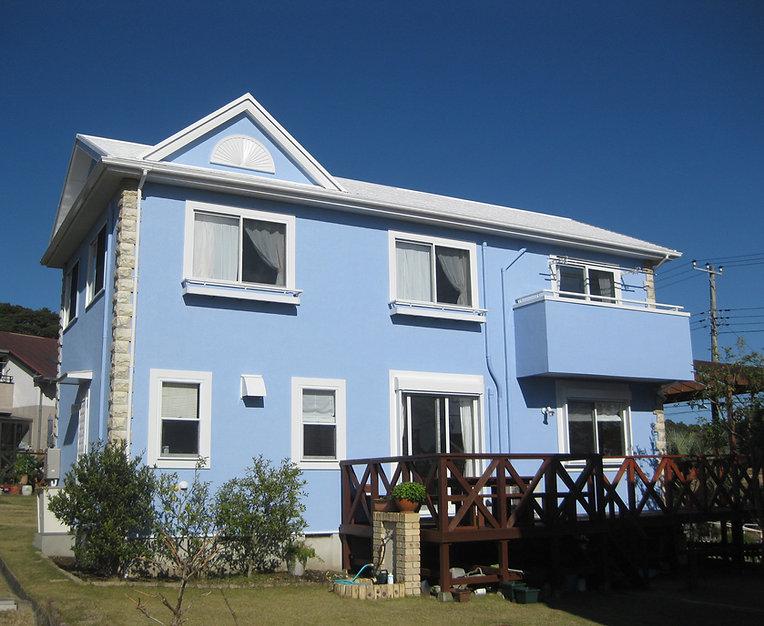 勝浦市の戸建て住宅・遮熱屋根・外壁塗装