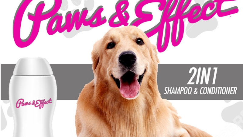 Paws & Effect: 2 in 1 Shampoo & Conditioner