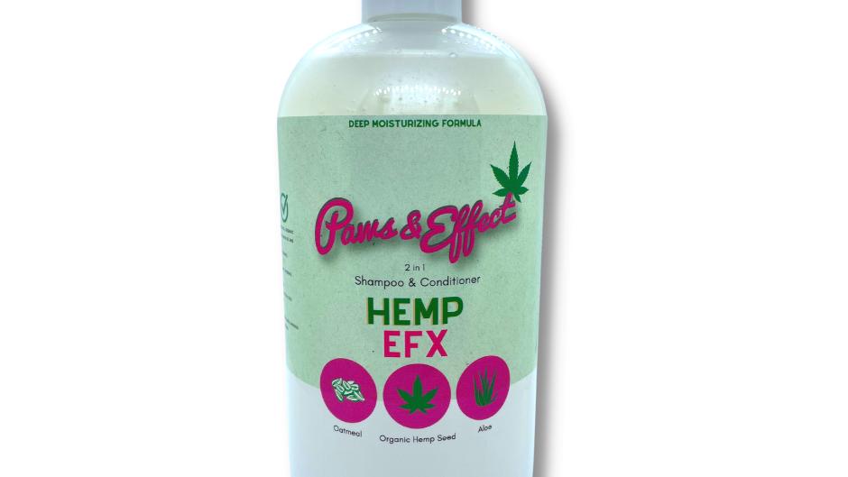 Hemp EFX: 2-in-1 Pet Shampoo | Deep Moisturizing Formula