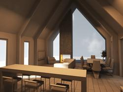 3D модель гостиной