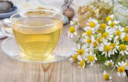 Cup Of Herbal Chamomile Tea.