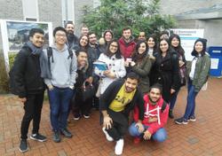 MLS College BU visit web