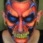 Professional Skull Makeup Artist Los Angeles
