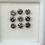 Thumbnail: 3.0 MM 9 pcs Salt and Pepper Round Brilliant cut Diamond