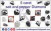5 Carat Salt and Pepper Diamonds