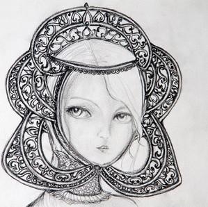 Menina de Praga - disponível para tatuar