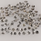 Thumbnail: 1.7 MM To 1.8 MM Natural Salt and Pepper Round Brilliant cut Diamond 21Pcs