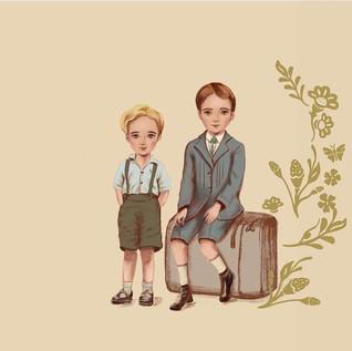 Ilustração história Danke
