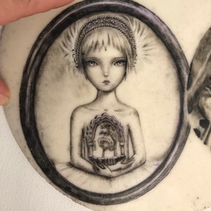 Menina da Fonte - disponível para tatuar