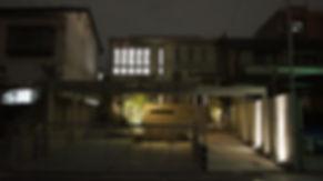 ライトアップが美しい名古屋市で人気のクロ-ズ外構