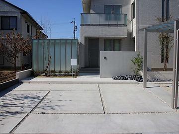 緑の力が映える名古屋の外構