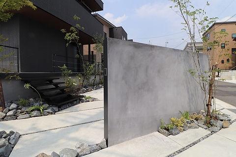 モルタル壁 名古屋 エクステリア