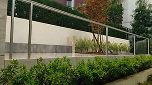 名古屋市内のお庭のリフォ-ム
