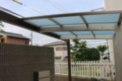 屋根 サイクルポ-ト