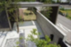 東屋をイメ-ジしたサイクルポ-ト