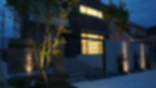 ライトアップが美しいおしゃれな外構施工事例