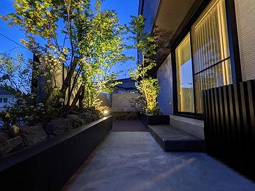 名古屋 外構 お庭