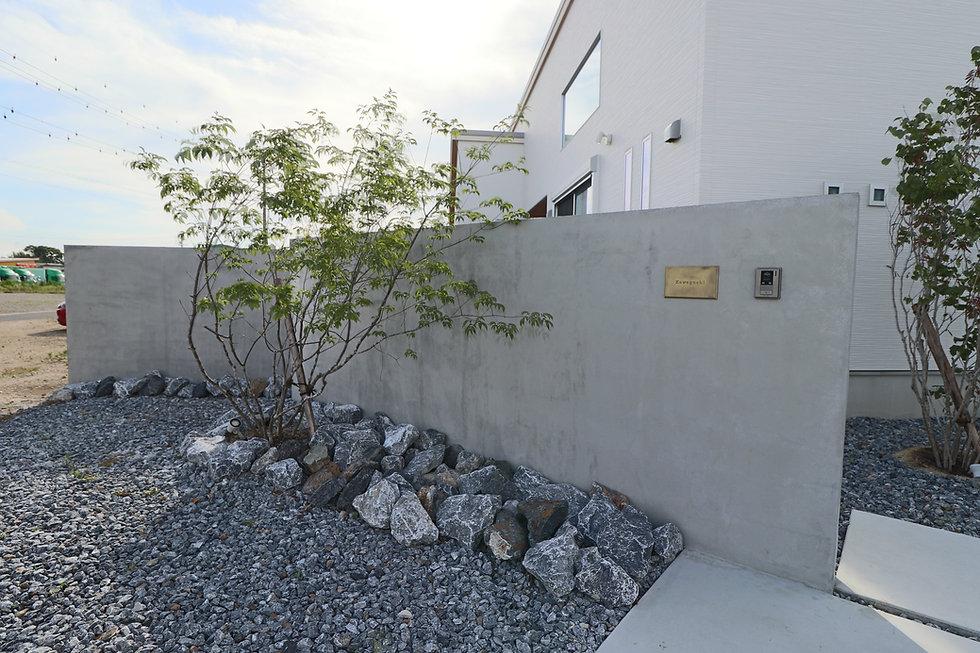 モルタル塗り壁