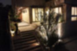 リゾ-トホテルのような愛知の外構