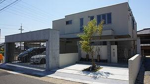 愛知県内で人気のクロ-ズ外構
