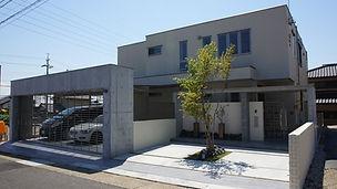 旭化成(ヘーベルハウス)名古屋のおしゃれな外構施工事例