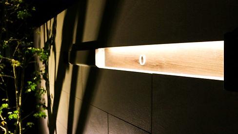 埋め込み式LEDバ-