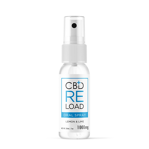 Lemon & Lime CBD Oral Spray