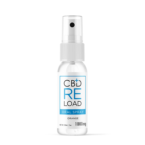 Orange CBD Oral Spray