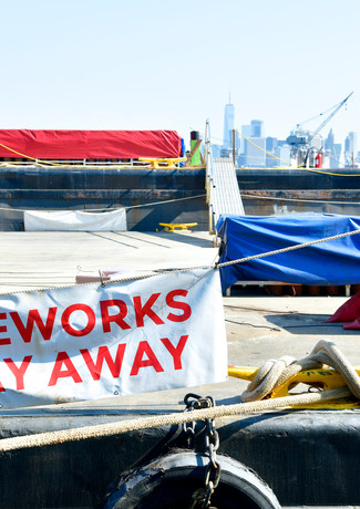 Macy's 4th Of July Fireworks Take Shape As More Than 65,000 Shells And Effects Are Prepared For The Nation's Largest Independence Day Celebration - Photo by Eugene Gologursky/Getty Images for Macy's, Inc