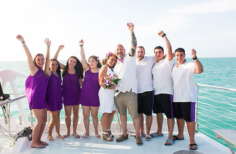 Affordable Boat Wedding Key West