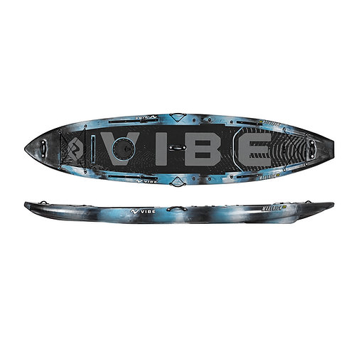 Vibe Maverick 120 SUP Angler Package - Blue Camo