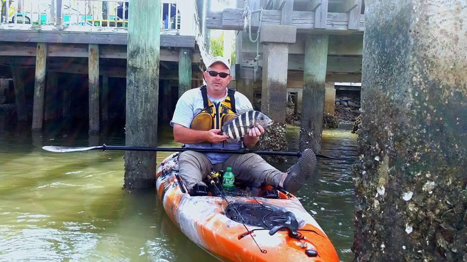 Tybee Fishing Company Guided Kayak C
