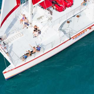 Catamaran Wedding Key West