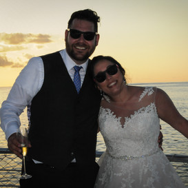key west sunset wedding
