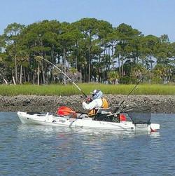 Team Tybee Tarpon Kayak Fishing Char