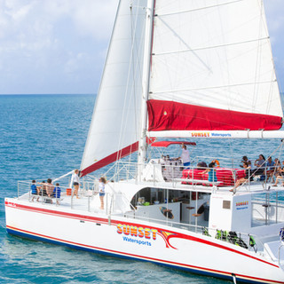Key West Sandie Cat Catamaran Wedding
