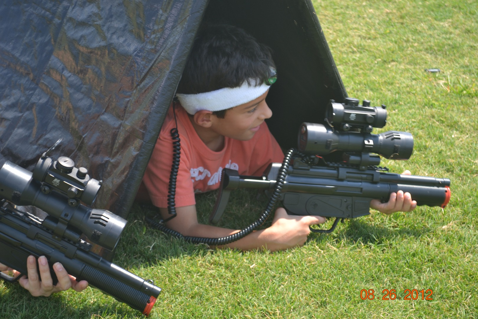 Now Available Mobile Laser Tag