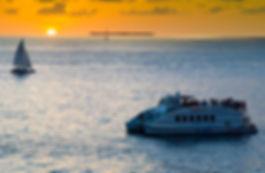 Sunset Boat Wedding Key West