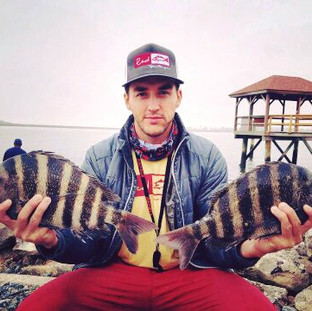 Tybee Island Sheepshead Kayak Fishing Charter